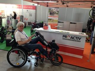 BerkelBike Handbike mit funktioneller Elektro Stimulation FES