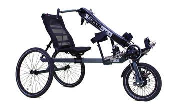BerkelBike Pro Handbike als Dreirad