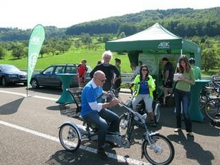 Dreirad für Erwachsene und Personen mit Handicap, Gleichgewichtsstörung, Multilple Sklerose, Parkinson