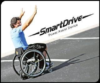 SmartDrive Rollstuhl Antrieb Elektrorollstuhl