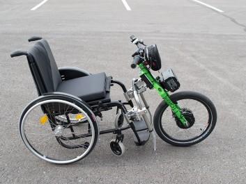 Vario Drive Rollstuhl Vorspannbike mit Elektromotor
