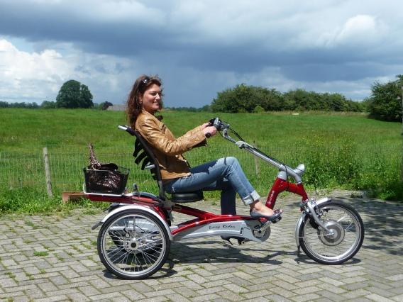 Elektro Dreirad Fahrrad für Erwachsene bei Gleichgewichts Störungen, MS, Parkinson etc EasyRider von vanRaam