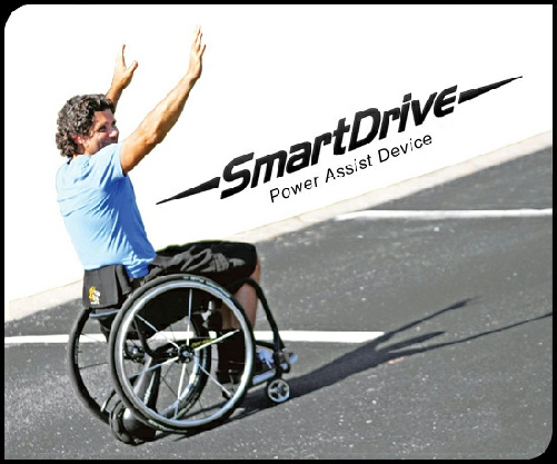 Smartdrive Elektroantrieb für Rollstuhl